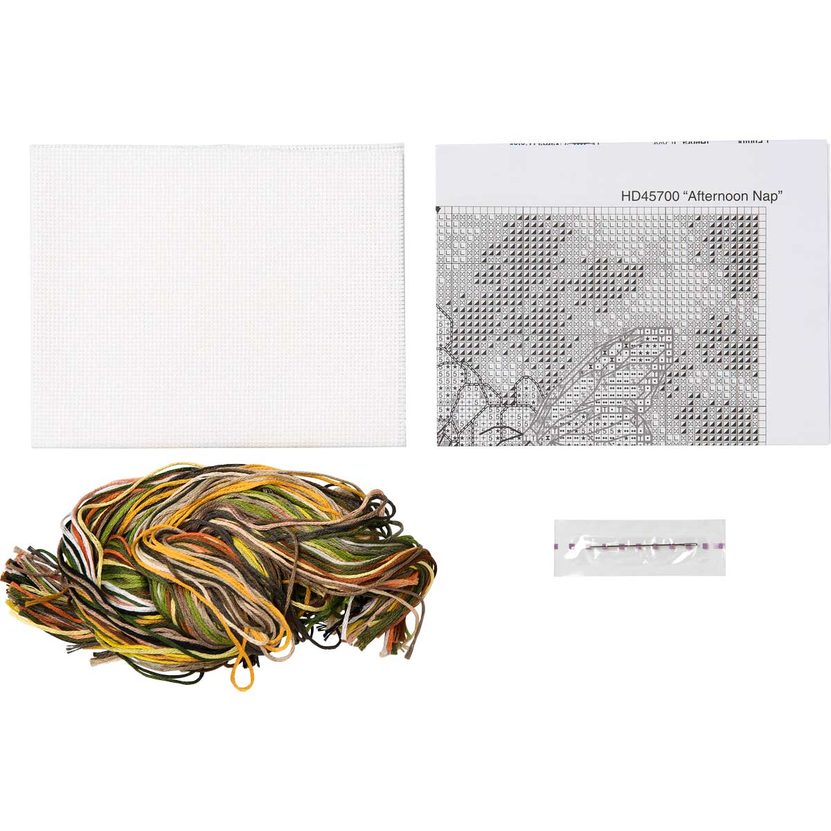 Bucilla ® Counted Cross Stitch - Picture Kits - Mini - Afternoon Nap
