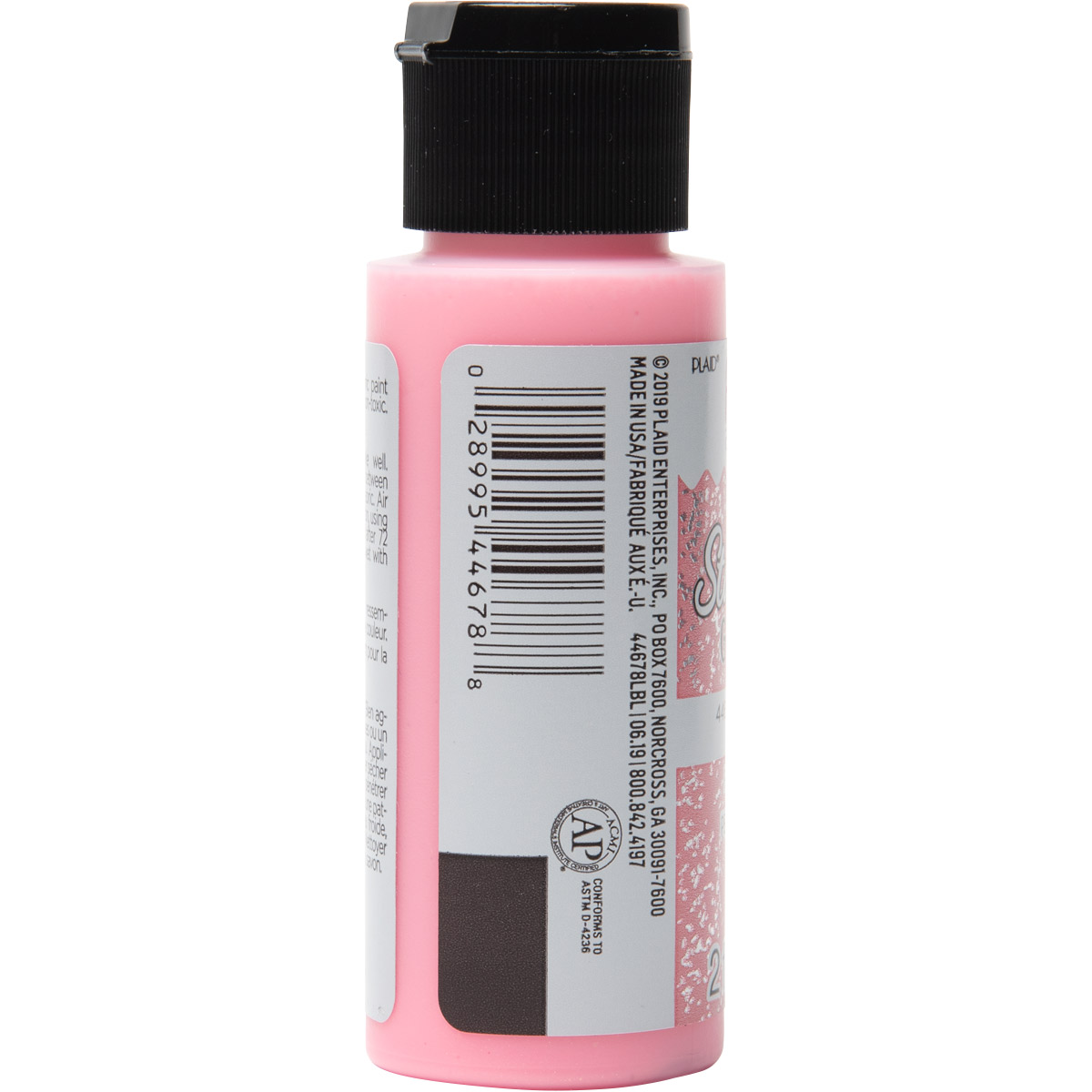 Fabric Creations™ StarStruck Glitter™ Fabric Paint - Strawberry Ice, 2 oz. - 44678