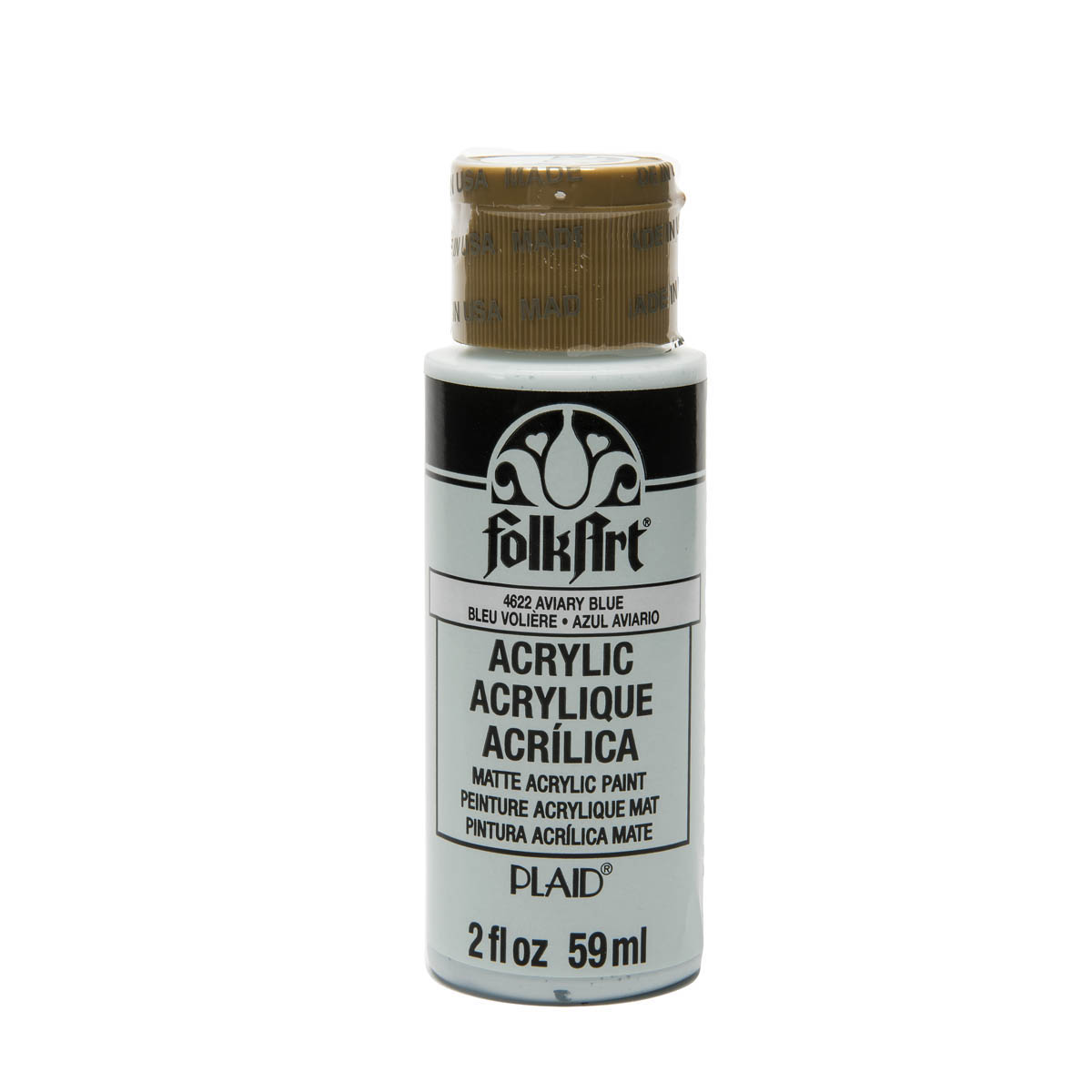 FolkArt ® Acrylic Colors - Aviary Blue, 2 oz. - 4622