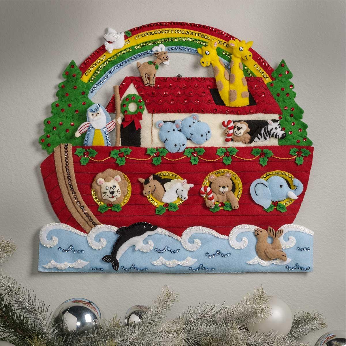 Bucilla ® Seasonal - Felt - Home Decor - Noah's Ark Wall Hanging - 86987E