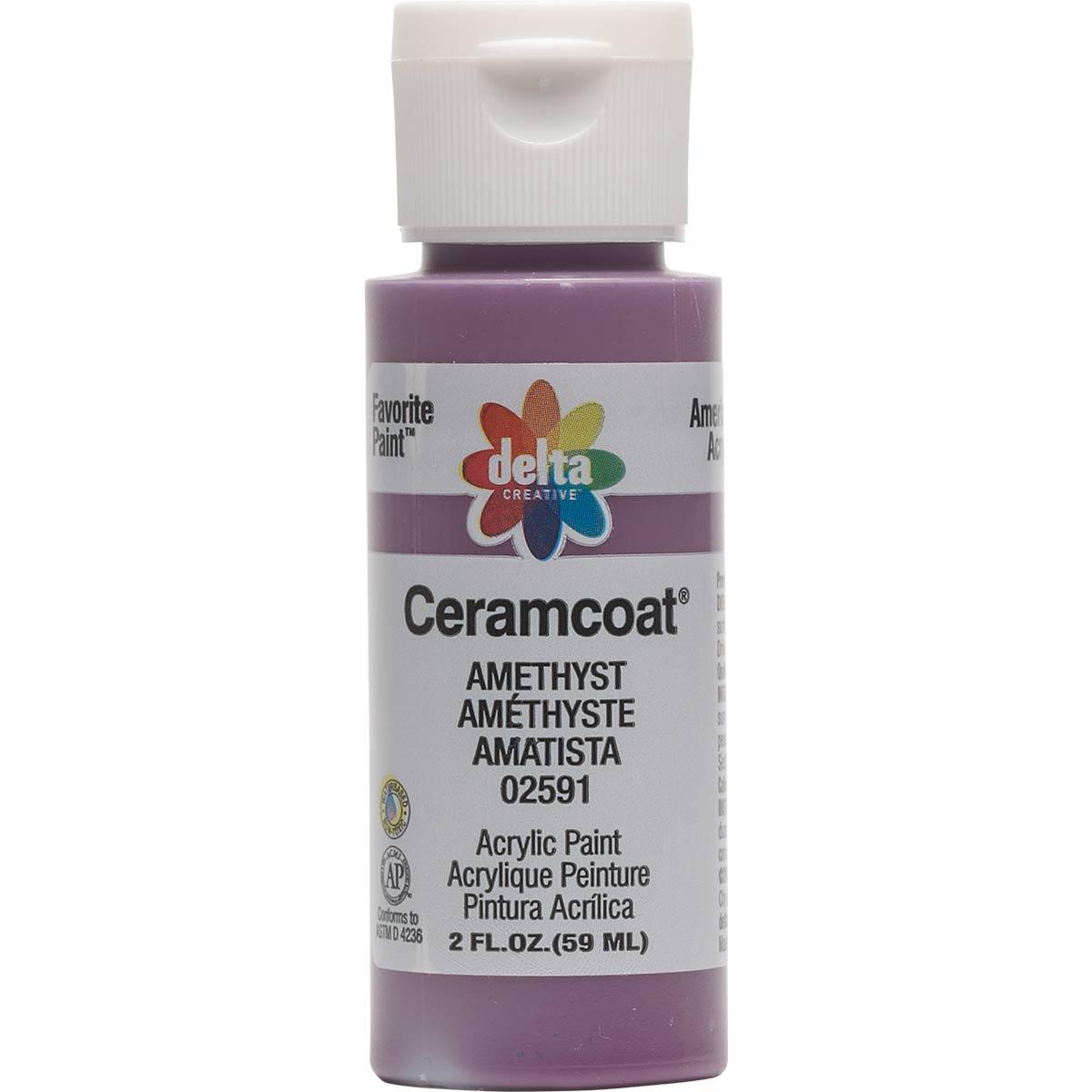 Delta Ceramcoat ® Acrylic Paint - Amethyst, 2 oz.