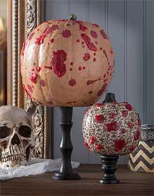 Bloody Halloween Pumpkins