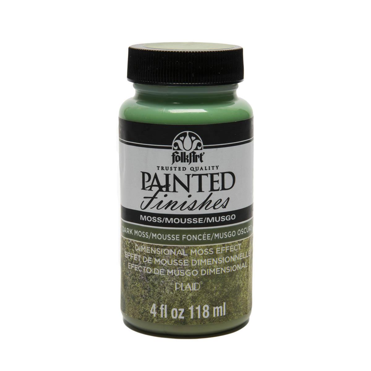 FolkArt ® Painted Finishes - Dark Moss, 4 oz.