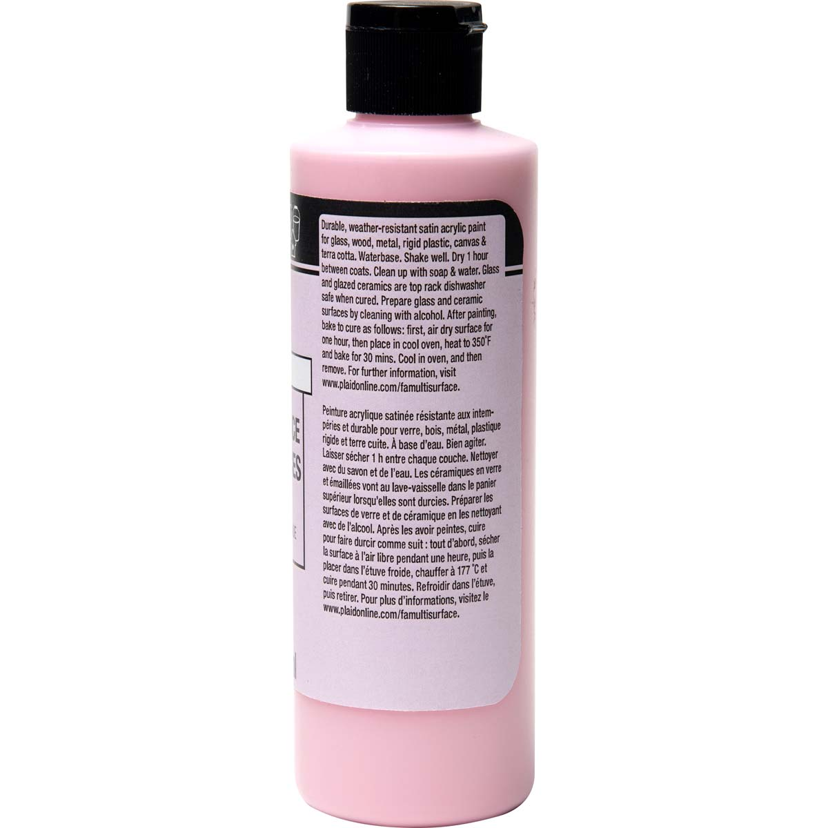 FolkArt ® Multi-Surface Satin Acrylic Paints - Baby Pink, 8 oz. - 4675