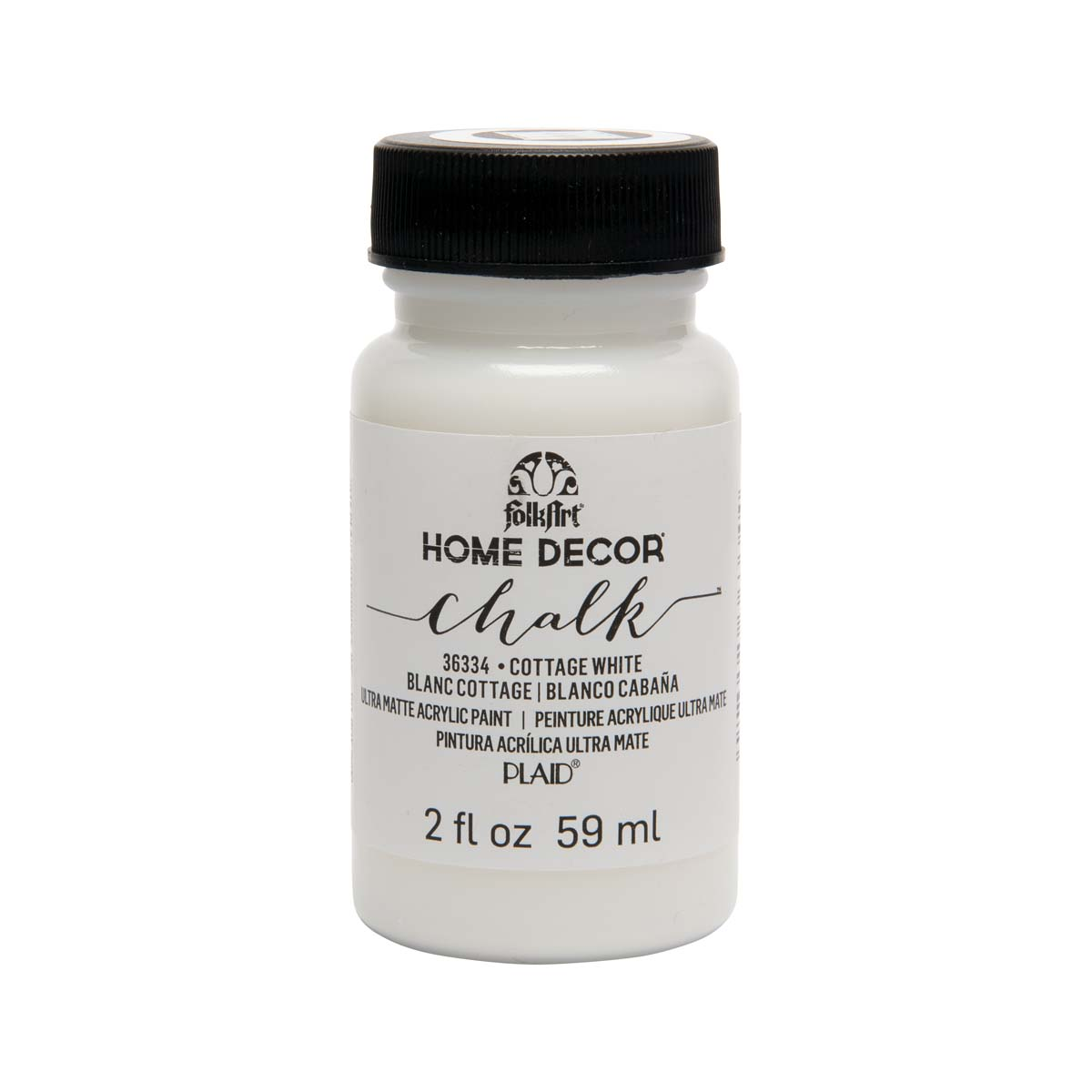 FolkArt ® Home Decor™ Chalk - Cottage White, 2 oz. - 36334