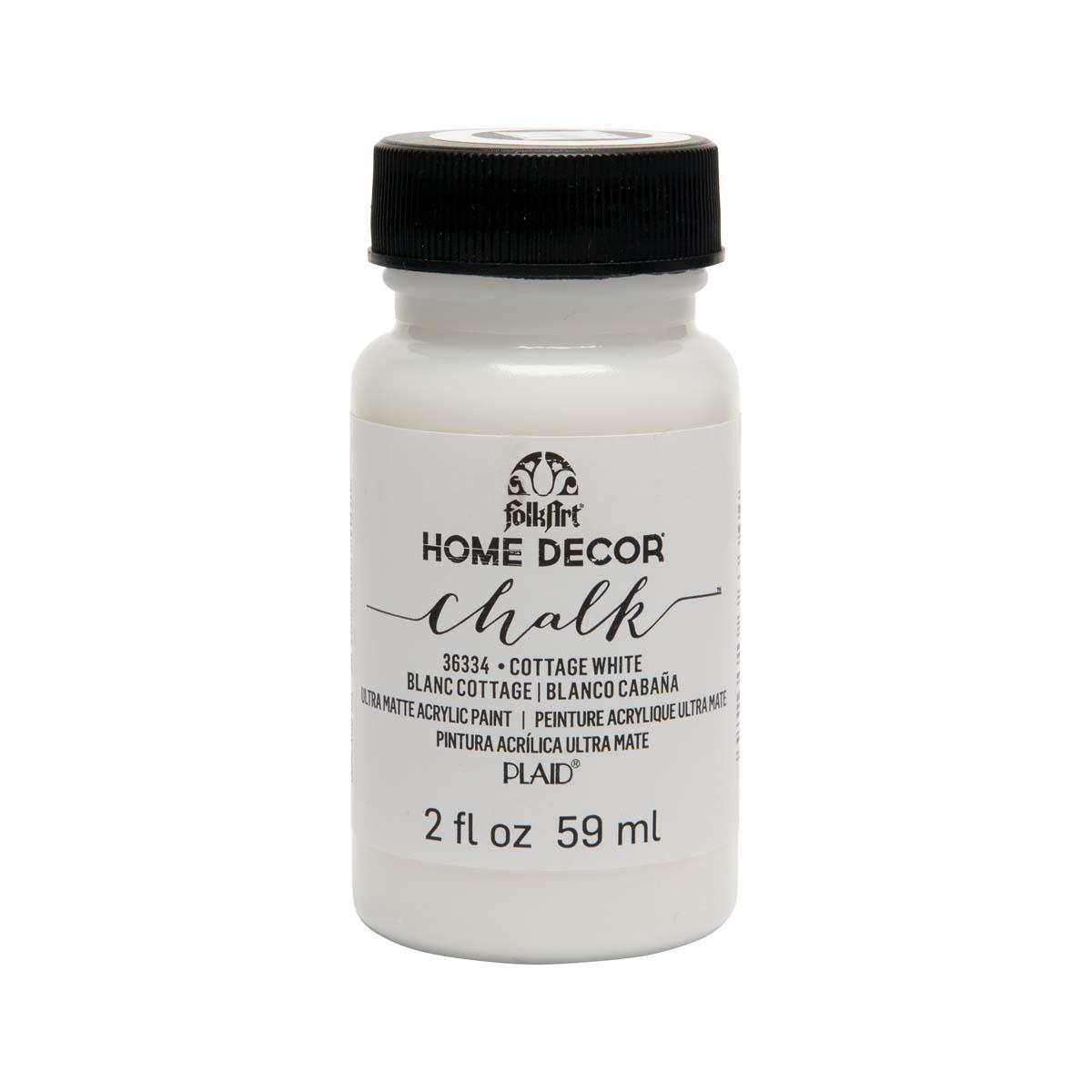 FolkArt ® Home Decor™ Chalk - Cottage White, 2 oz.