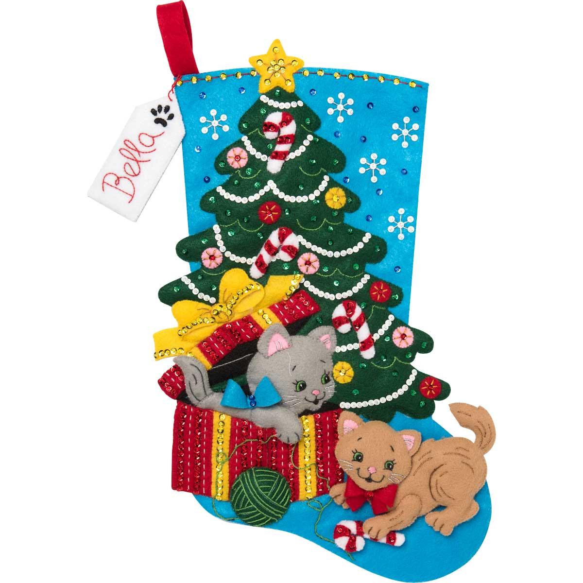 Bucilla ® Seasonal - Felt - Stocking Kits - The Pawfect Gift