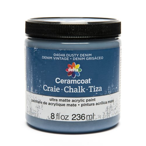 Delta Ceramcoat ® Chalk - Dusty Denim, 8 oz.