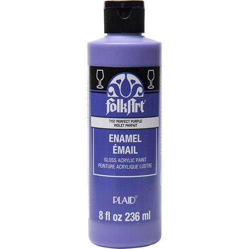 FolkArt ® Enamels™ - Perfect Purple, 8 oz. - 7157