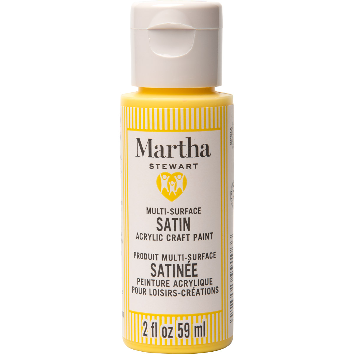 Martha Stewart ® Multi-Surface Satin Acrylic Craft Paint CPSIA - Sun Kissed, 2 oz. - 99106