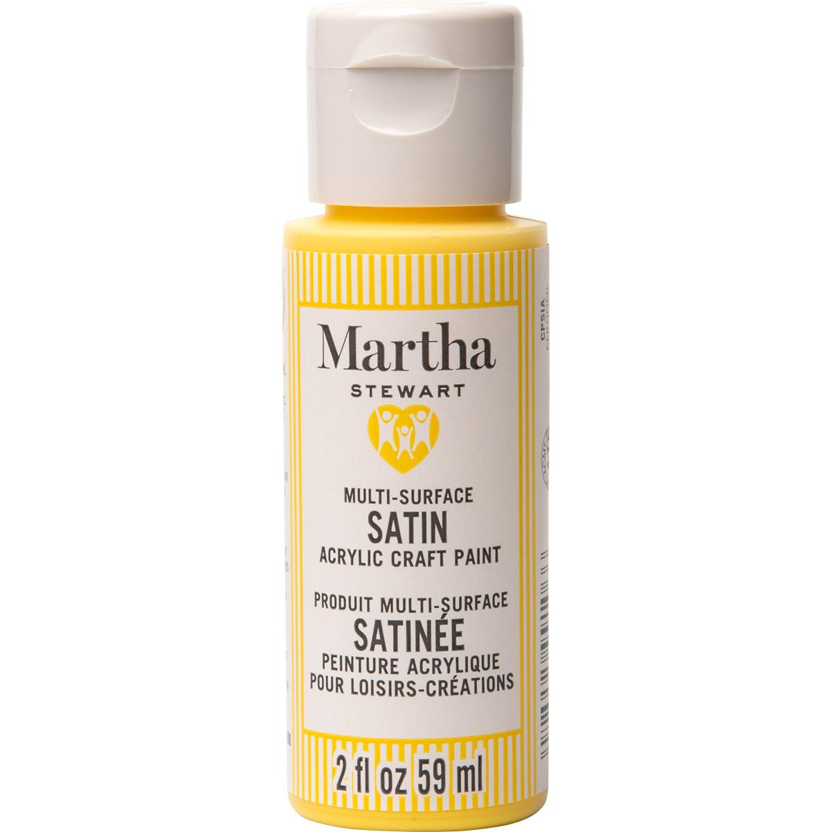 Martha Stewart® 2oz Multi-Surface Satin Acrylic Craft Paint - Sun Kissed