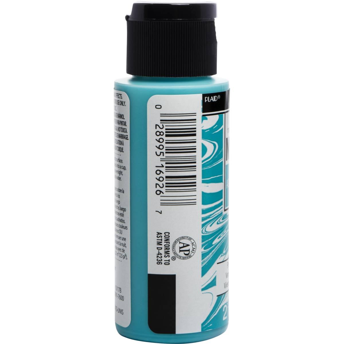 FolkArt ® Marbling Paint - Aqua, 2 oz.