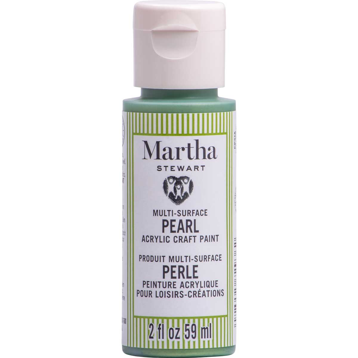 Martha Stewart® 2oz Multi-Surface Pearl Acrylic Craft Paint - Enchanted Green
