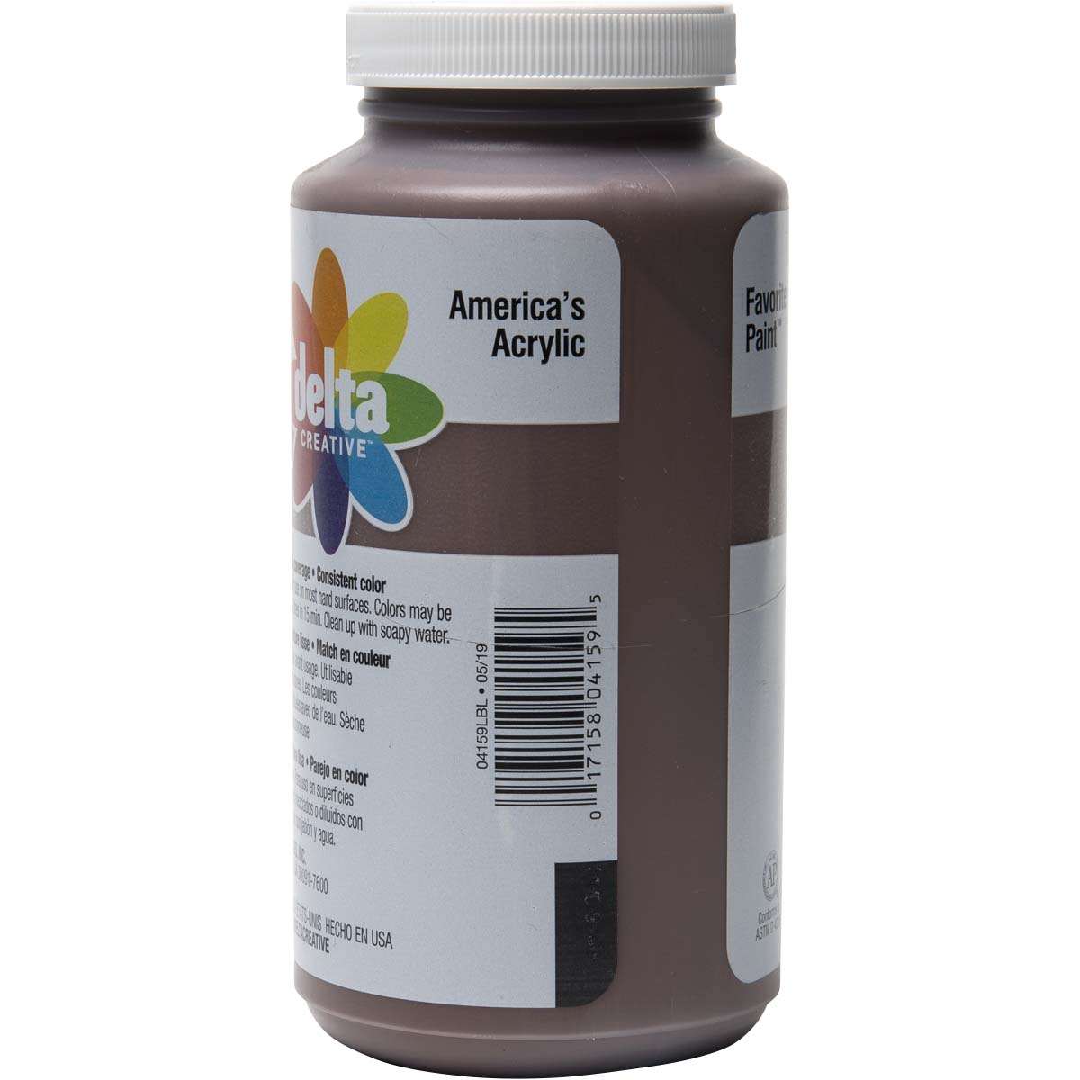 Delta Ceramcoat ® Acrylic Paint - Spice Brown, 16 oz.