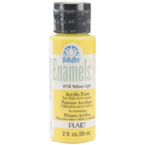 FolkArt ® Enamels™ - Yellow Light, 2 oz. - 4118