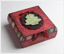 Elegant Christmas Box