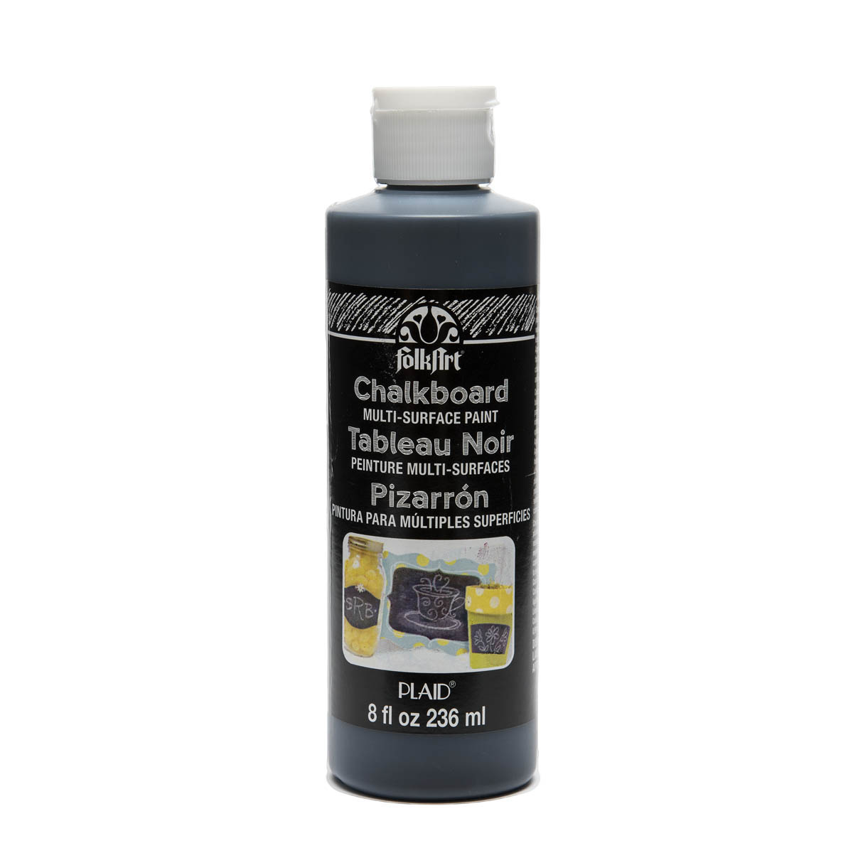 FolkArt ® Chalkboard Multi-Surface Paint - Black, 8 oz.