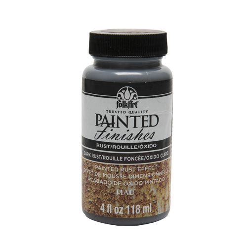 FolkArt ® Painted Finishes - Dark Rust, 4 oz.