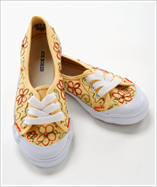 Flowers and Jewels Canvas Shoes