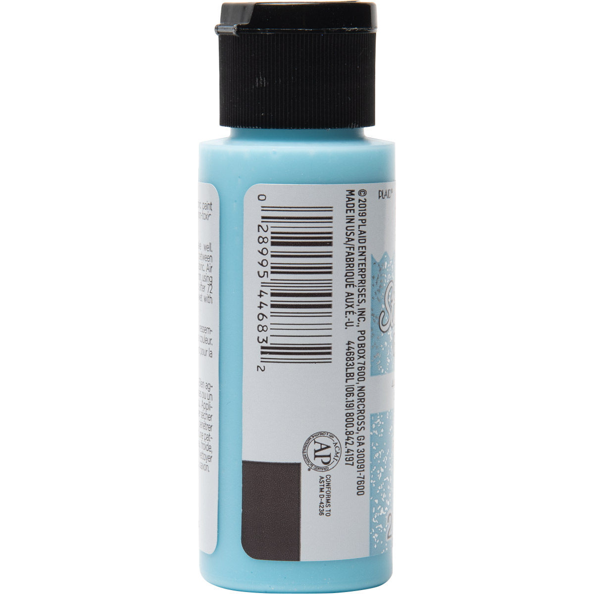 Fabric Creations™ StarStruck Glitter™ Fabric Paint - Light Blue Ice, 2 oz.