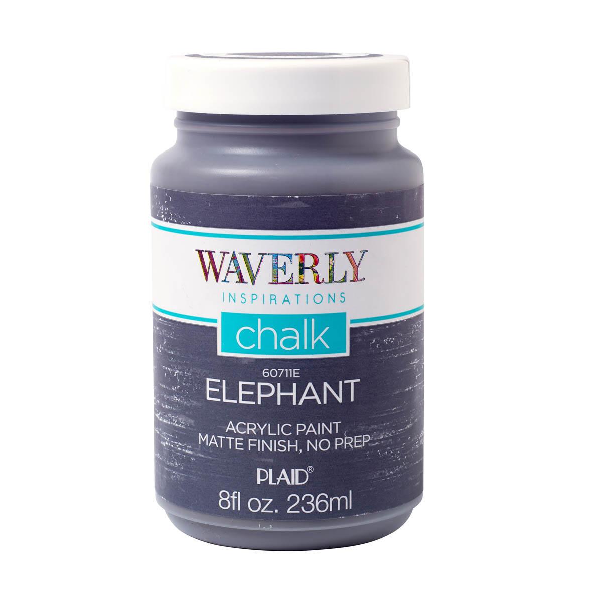 Waverly ® Inspirations Chalk Acrylic Paint - Elephant, 8 oz.