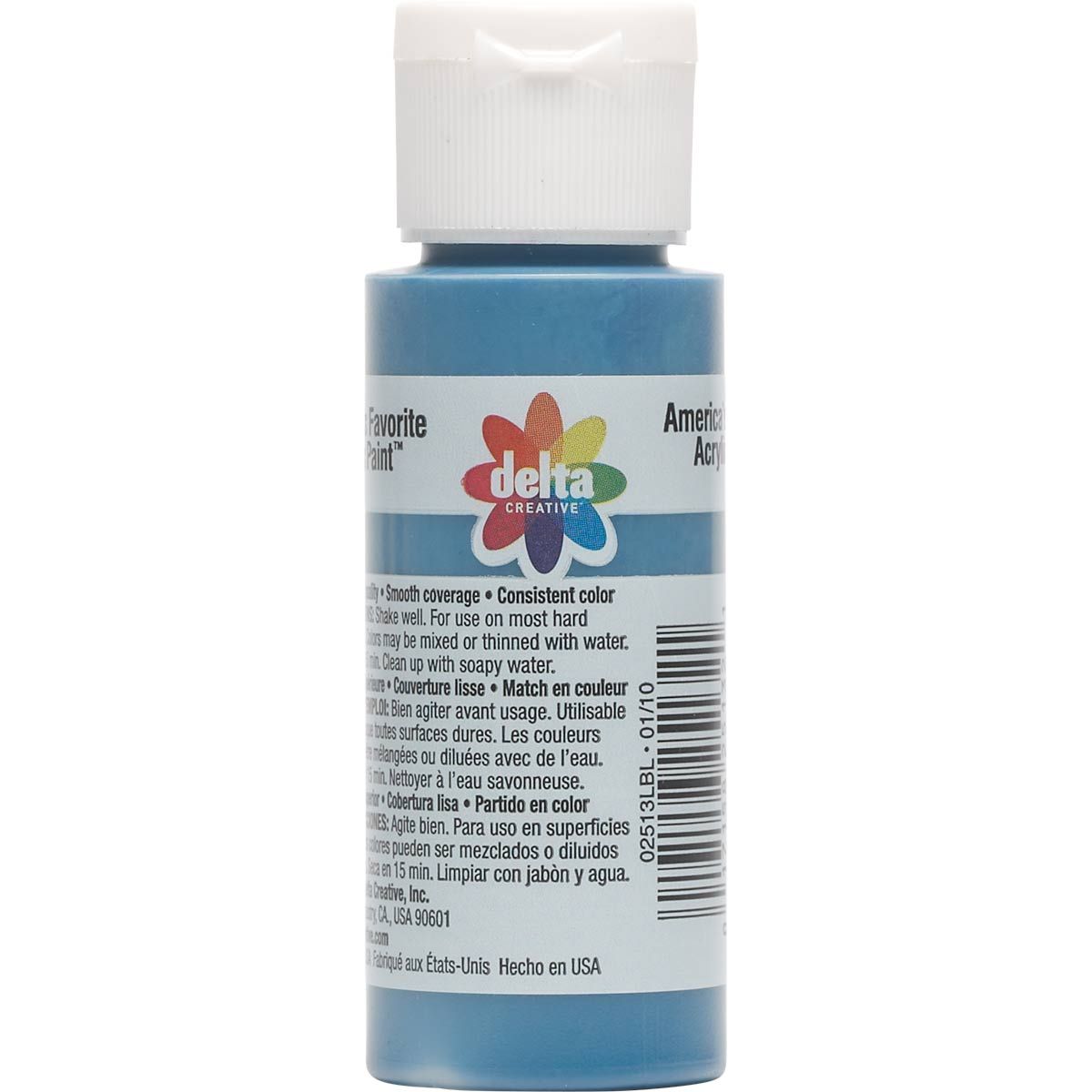 Delta Ceramcoat ® Acrylic Paint - Blueberry, 2 oz. - 025130202W