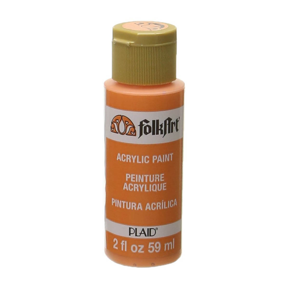 FolkArt ® Acrylic Colors - Medium Orange, 2 oz.