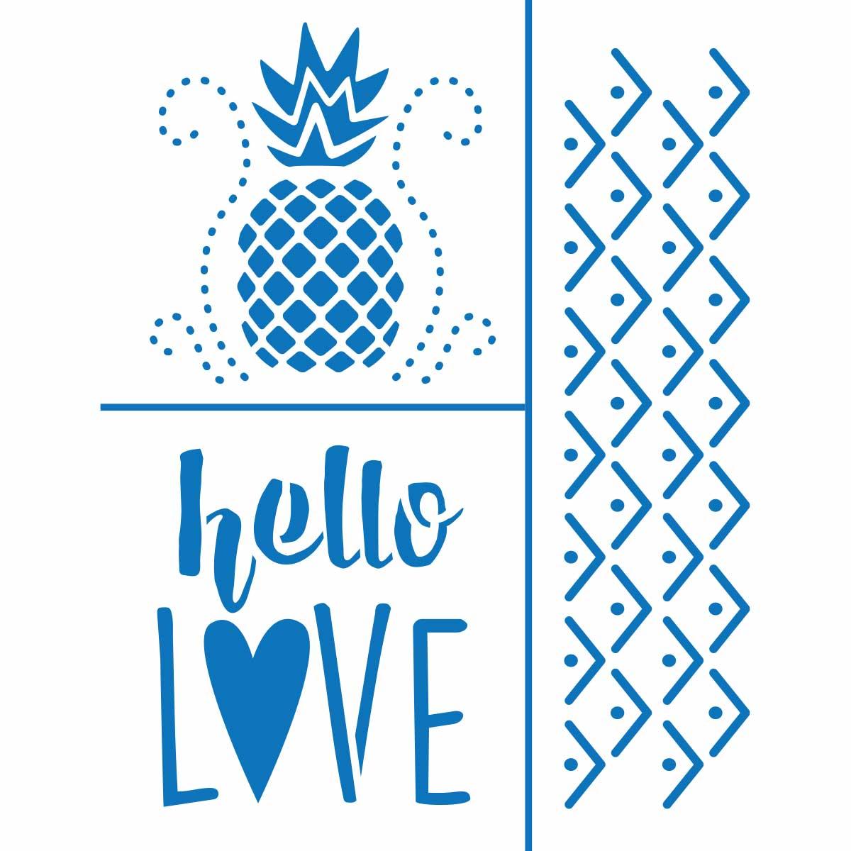 Bucilla ® Fashion Embroidery Kit - Hello Love - 49134E