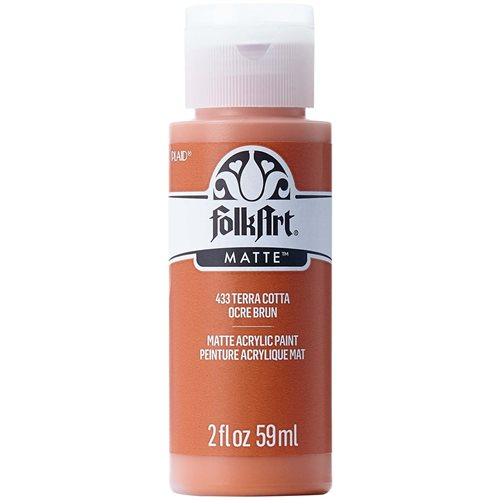 FolkArt ® Acrylic Colors - Terra Cotta, 2 oz.