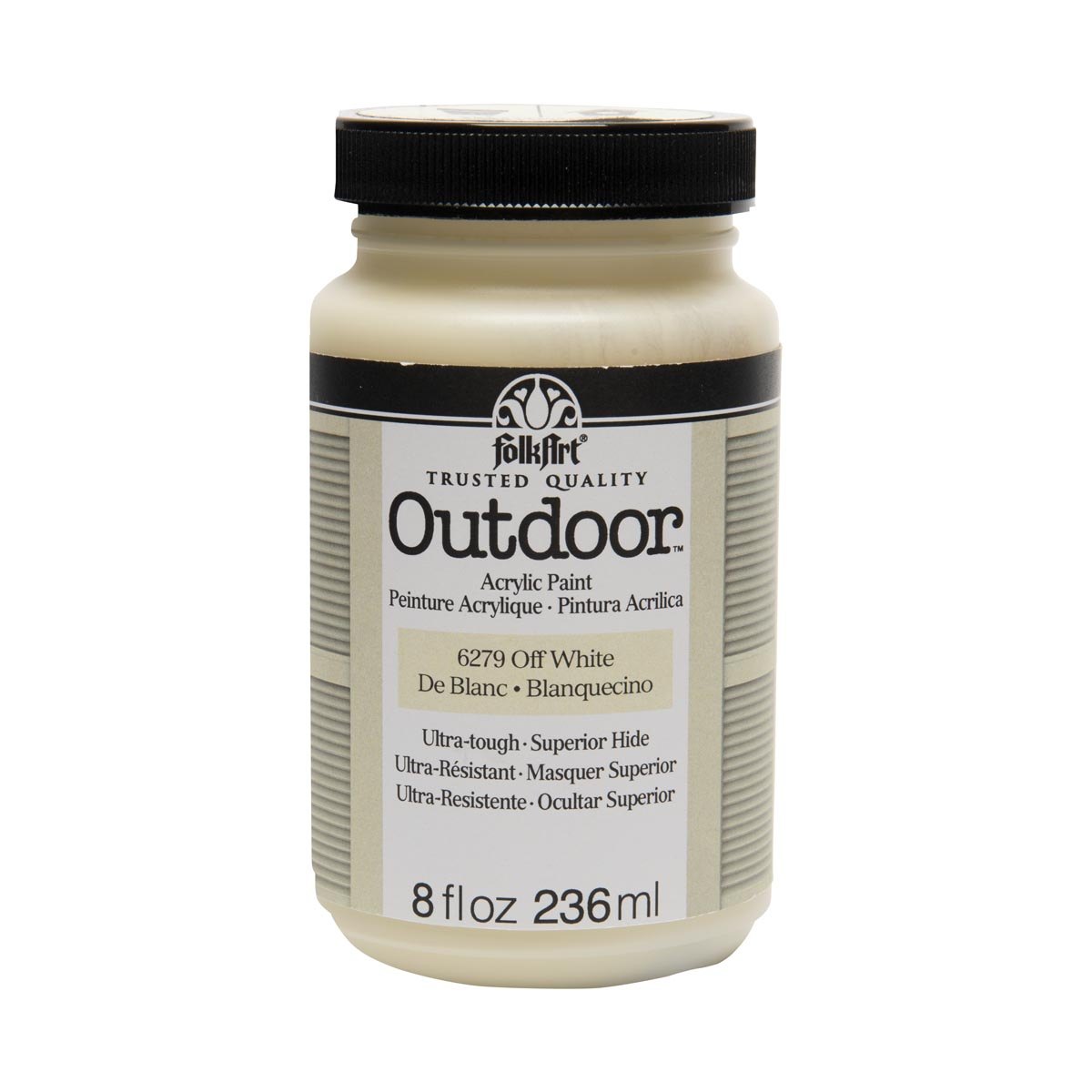 FolkArt ® Outdoor™ Acrylic Colors - Off White, 8 oz.