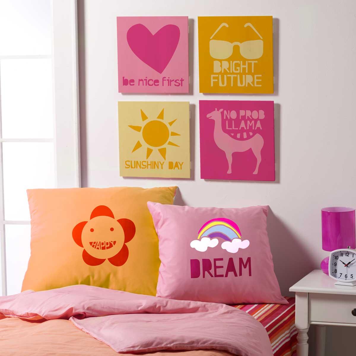 FolkArt ® Stencil Value Packs - Modern Variety, 12