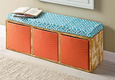 Cubby Shelf Unit Bench