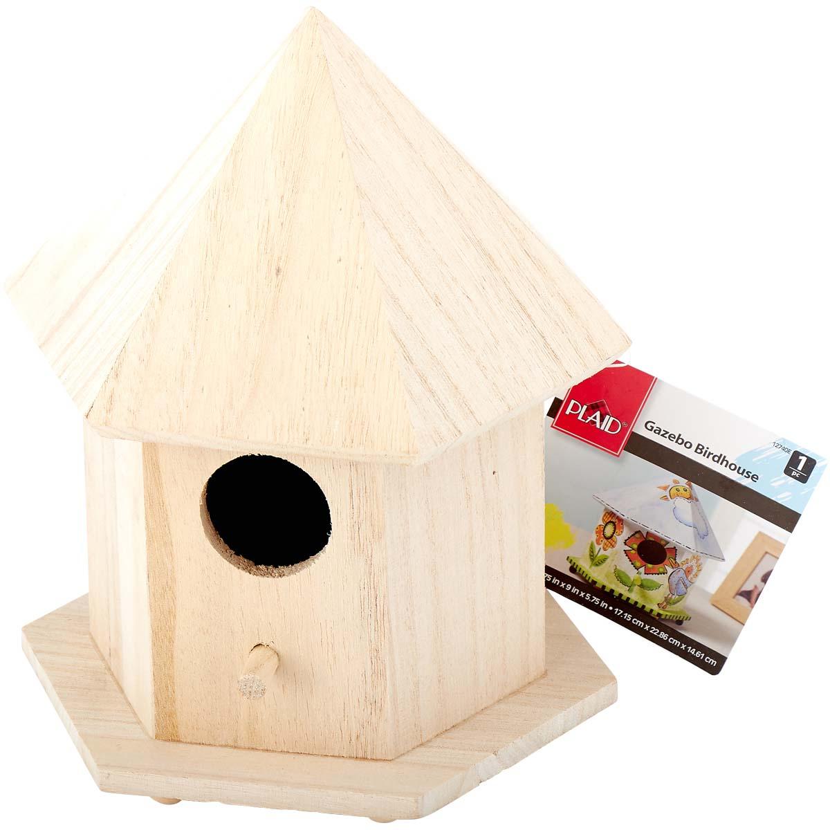 Plaid ® Wood Surfaces - Birdhouse, Gazebo - 12740