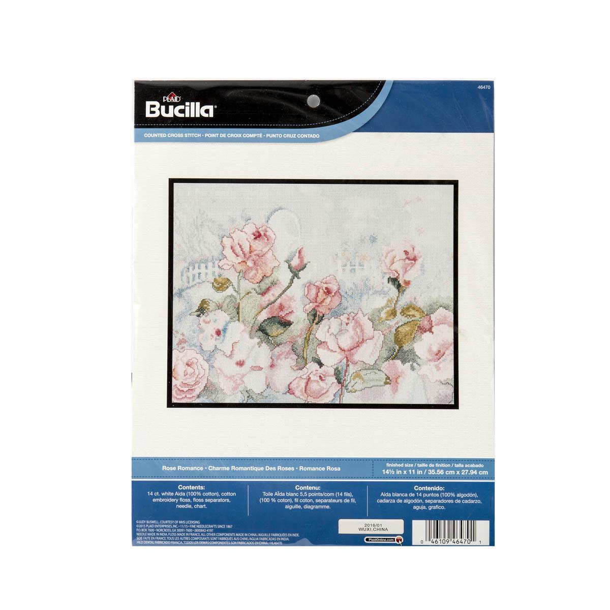 Bucilla ® Counted Cross Stitch - Picture Kits - Rose Romance