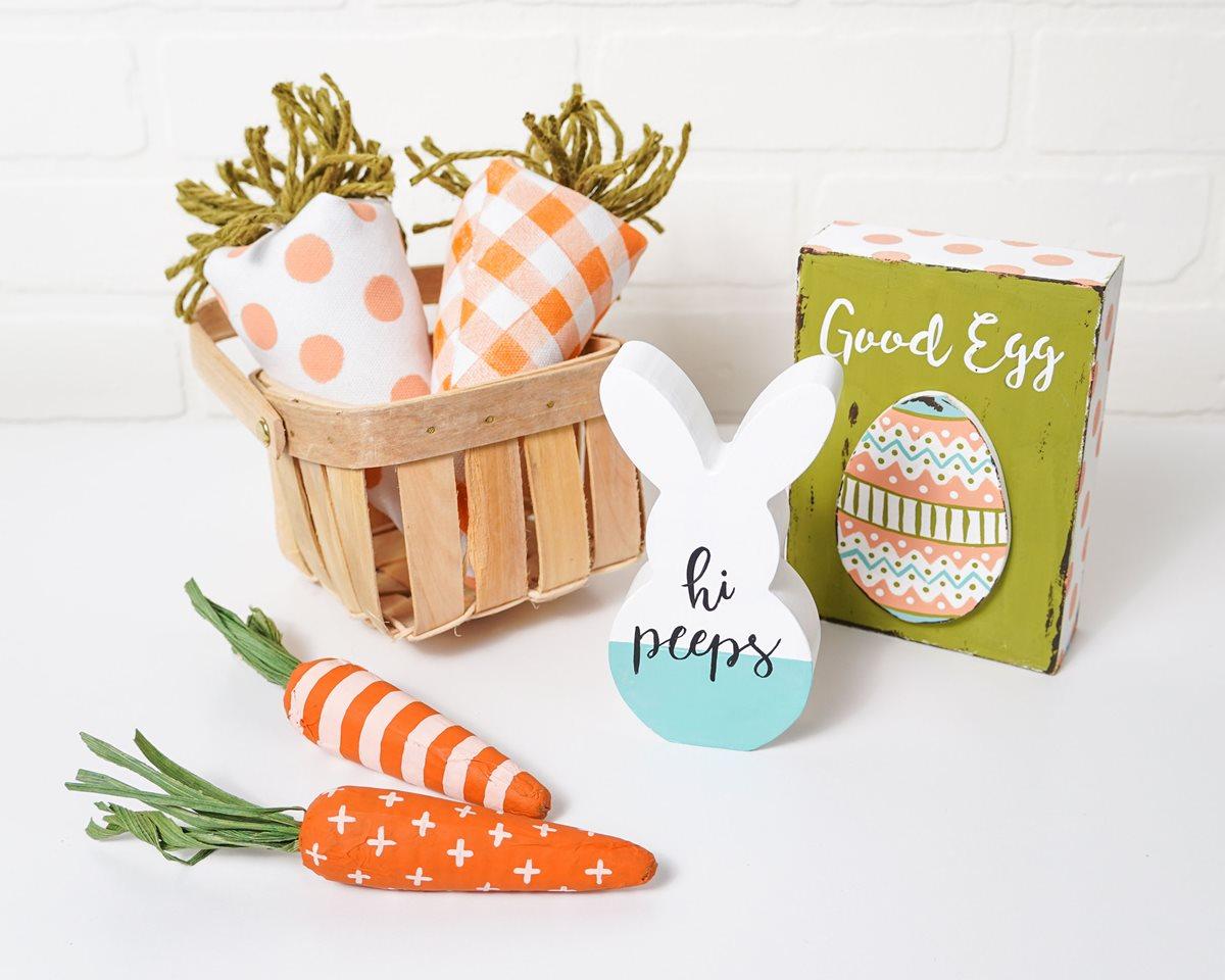 Paper Mache Carrots