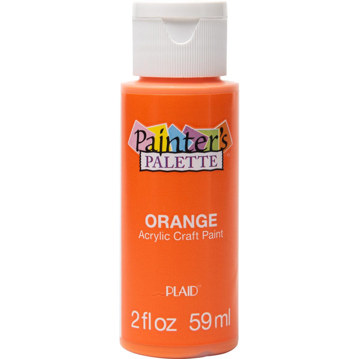 Plaid ® Painter's Palette™ Acrylic Paint - Orange, 2 oz.
