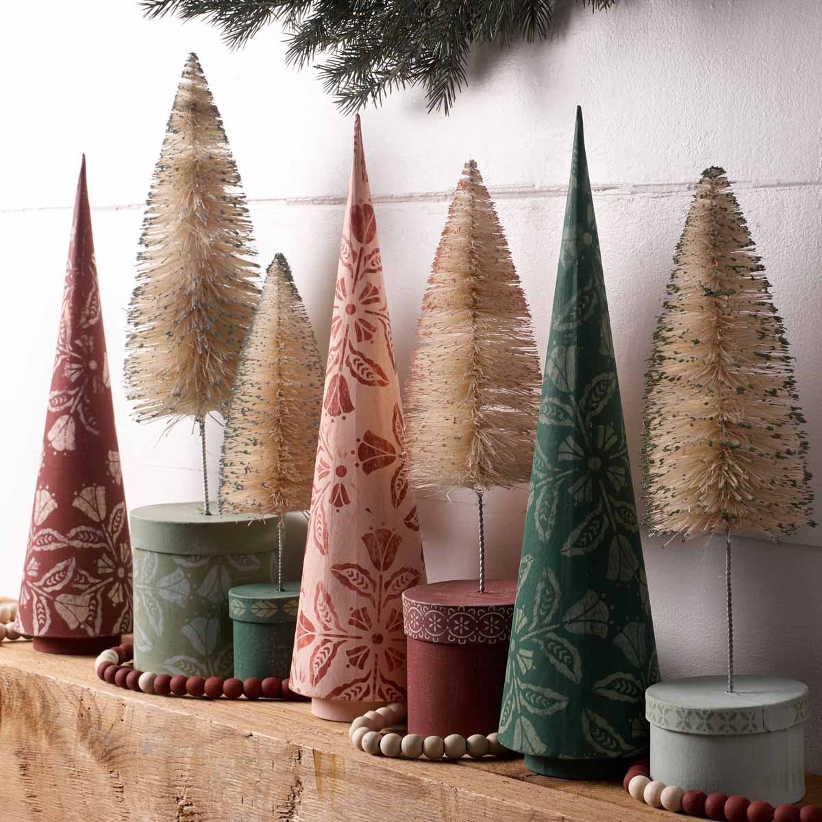 Abstract Holiday Home Decor