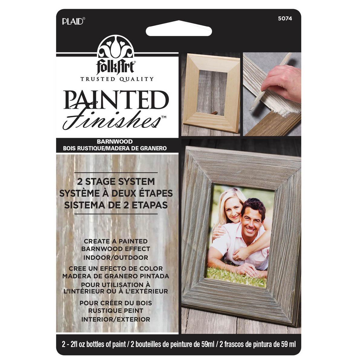 FolkArt ® Painted Finish Kit - Barnwood