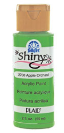 FolkArt ® Shiny™ Acrylic Paint - Lemon Custard, 2 oz. - 2706