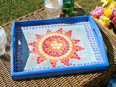 Patio Serving Tray