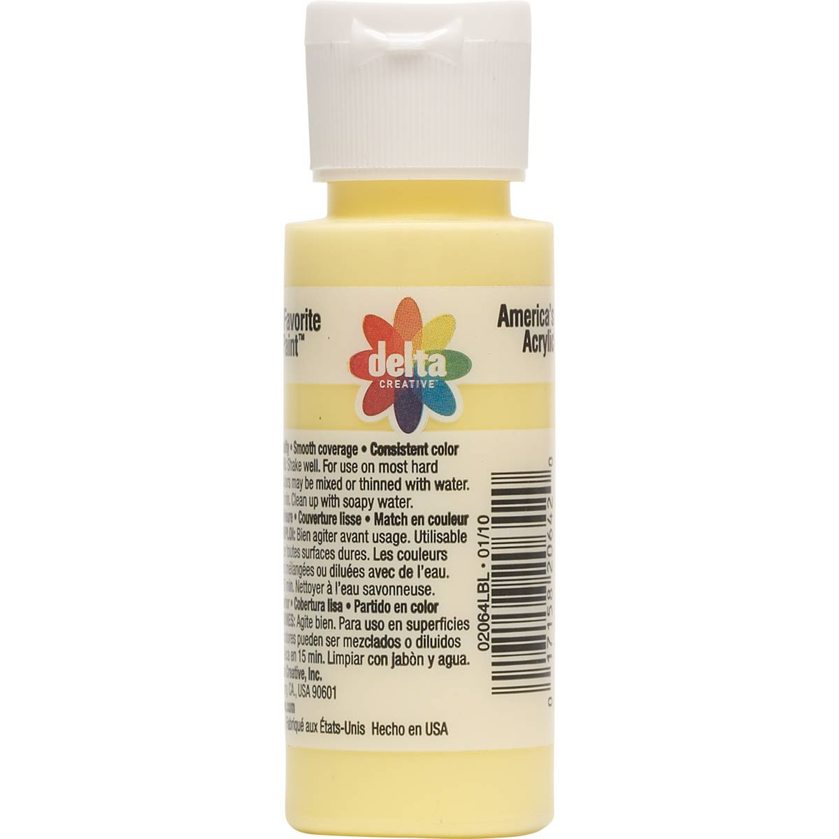 Delta Ceramcoat ® Acrylic Paint - Sunbright Yellow, 2 oz. - 020640202W