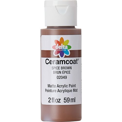 Delta Ceramcoat ® Acrylic Paint - Spice Brown, 2 oz. - 020490202W