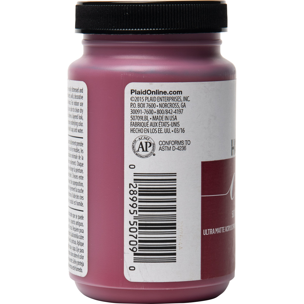 FolkArt ® Home Decor™ Chalk - Bordeaux, 8 oz.