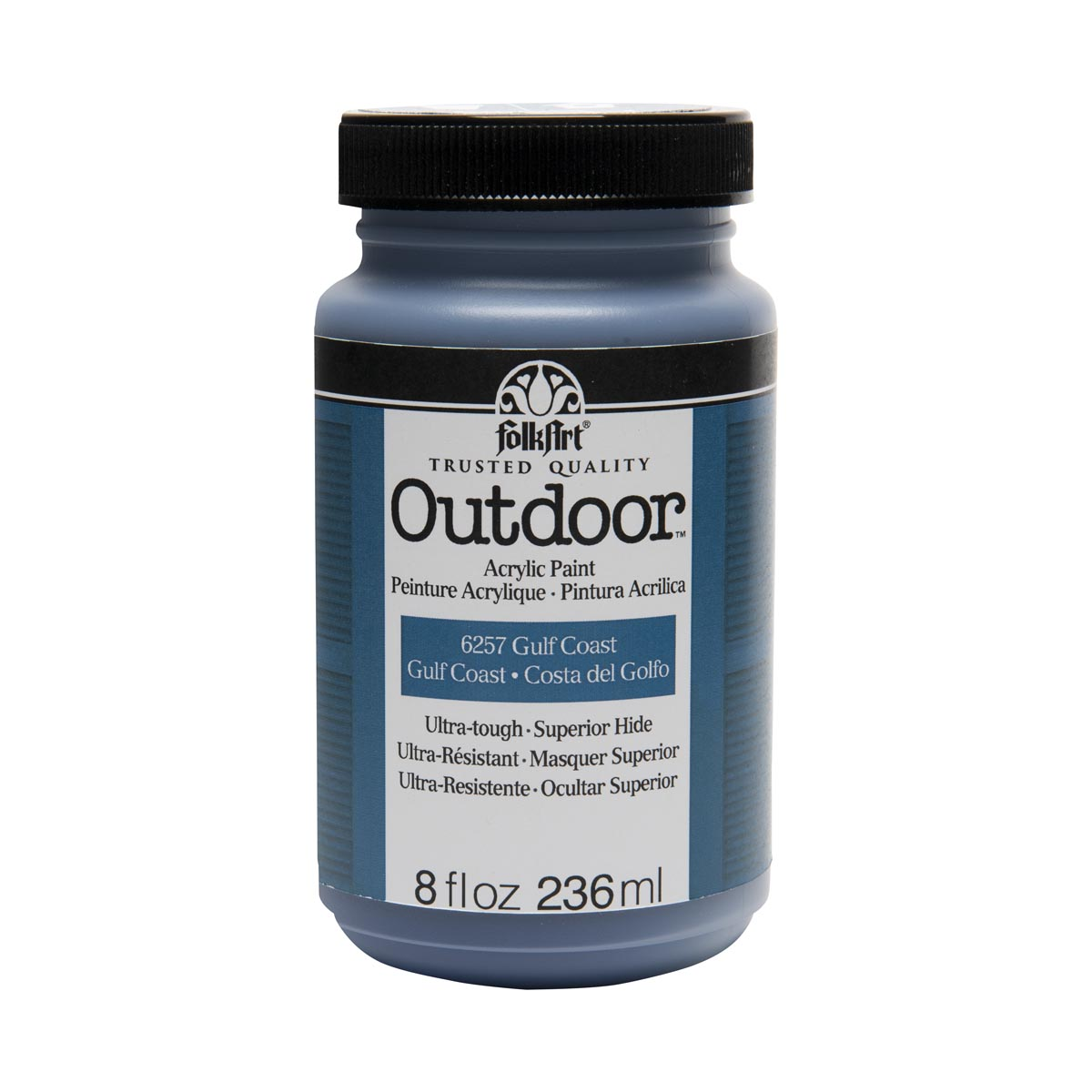 FolkArt ® Outdoor™ Acrylic Colors - Gulf Coast, 8 oz. - 6257