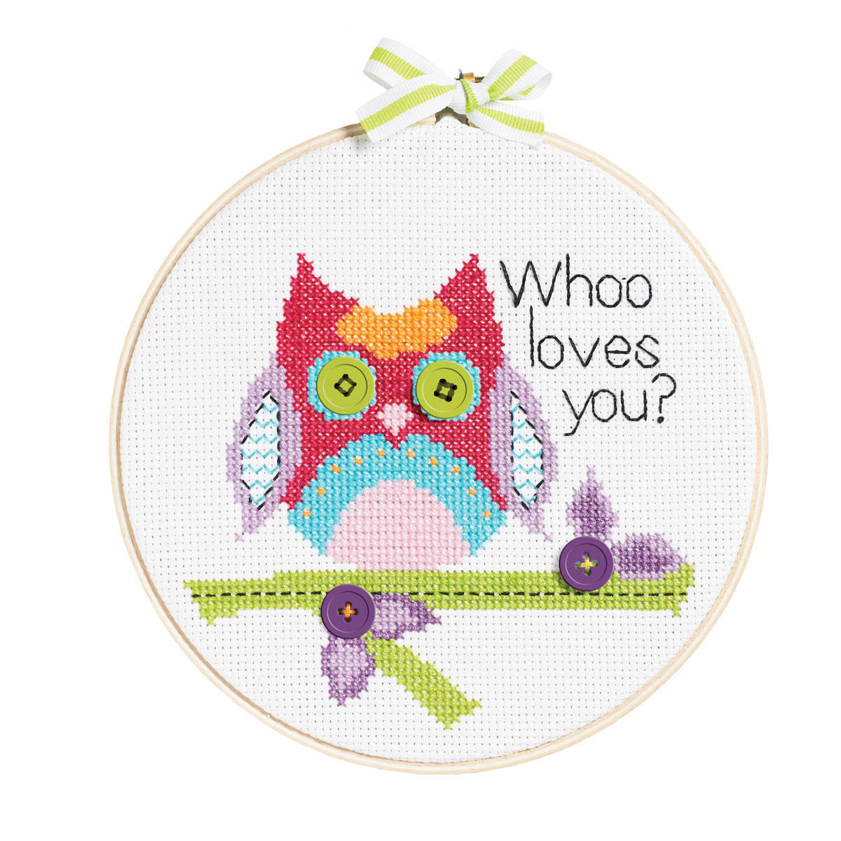 Bucilla ® My 1st Stitch™ - Counted Cross Stitch Kits - Whoo Loves You