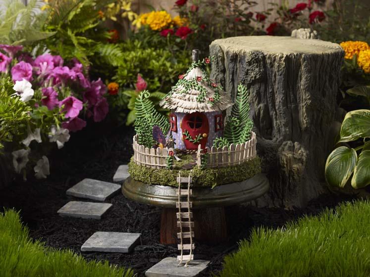 Fairy Garden Project   Fairy House Pedestal