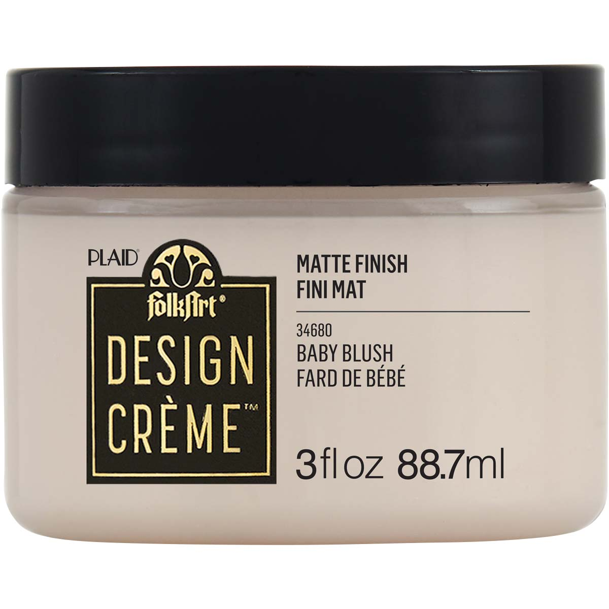 FolkArt ® Design Creme™ - Baby Blush, 3 oz. - 34680