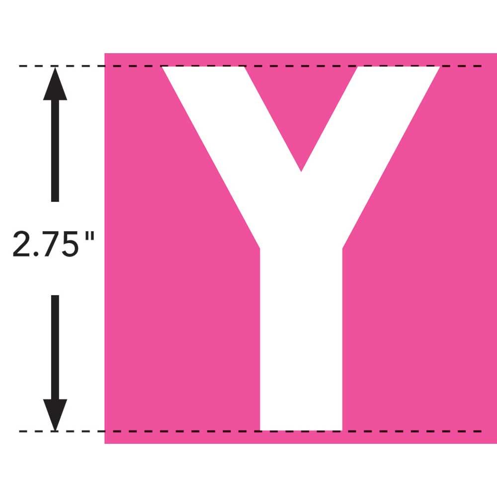 LaurDIY ® Iron-on Fabric Letters - Y - 19852
