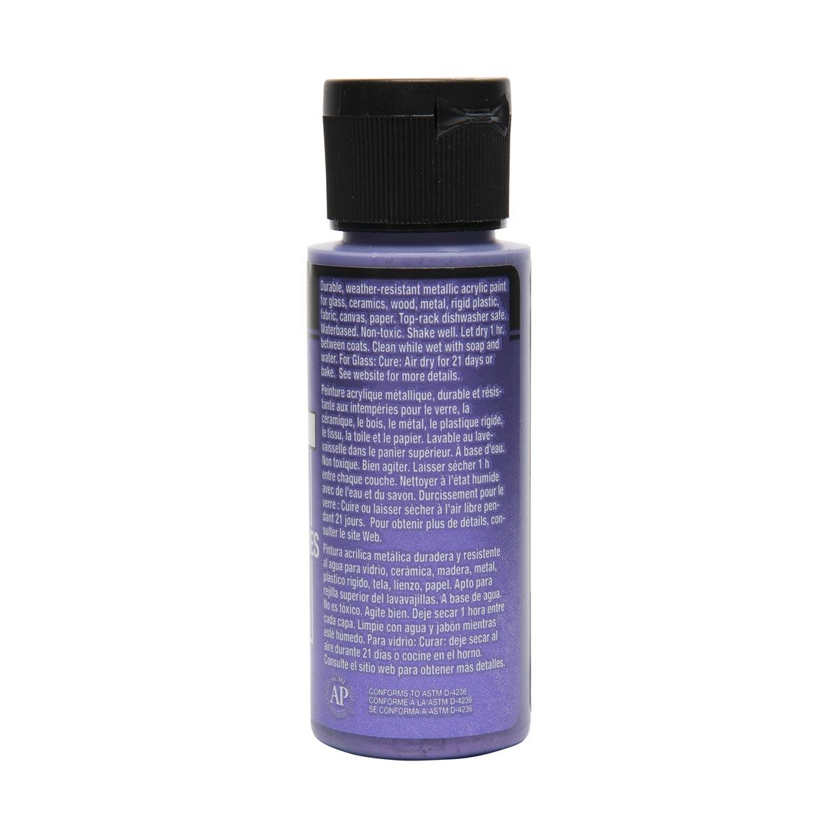 FolkArt ® Multi-Surface Metallic Acrylic Paints - Tanzanite, 2 oz. - 6313