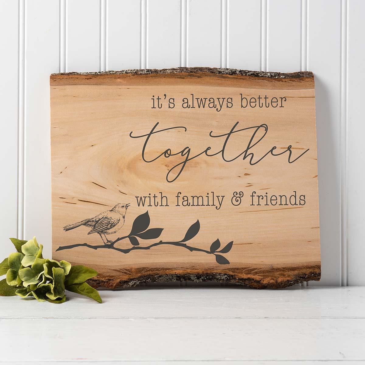 FolkArt ® Sign Shop™ Mesh Stencil - Always Together, 2 pc. - 63362